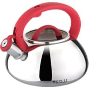 Чайник 3.0 л Kelli (KL-4335 красный)