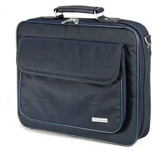 Сумка Continent CC-03 navy сумка для ноутбука 16 continent cl 105 кожа синий