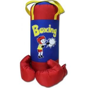 Набор BELON Груша и перчатки BOXING 1, оксфорд