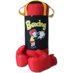 Набор BELON Груша и перчатки BOXING 3, оксфорд