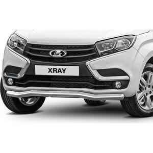 Купить Защита переднего бампера d57 волна Rival для Lada Xray (2015-н.в.), R.6003.002