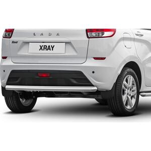 Купить Защита заднего бампера d57 Rival для Lada Xray (2015-н.в.), R.6003.006