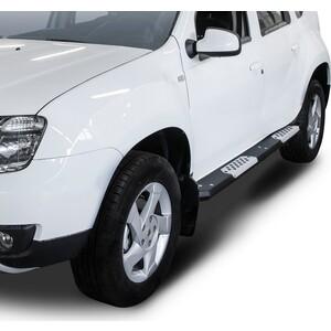 Купить Алюминиевые пороги Rival для Nissan Terrano (2014-н.в.) / Renault Duster (2011-2015 / 2015-н.в.), R.4703.013