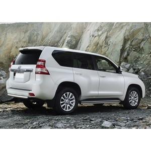 Купить Защита заднего бампера 75x42 Rival для Toyota Land Cruiser Prado 150 (2009-2013 / 2013-2017), R.5704.032