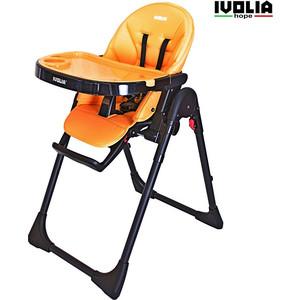 Стульчик для кормления Ivolia HOPE 01 2 колеса orange
