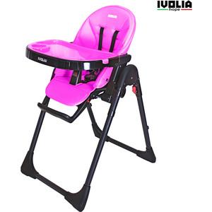 Стульчик для кормления Ivolia HOPE 01 2 колеса pink