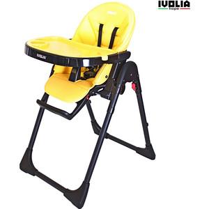 Стульчик для кормления Ivolia HOPE 01 2 колеса yellow
