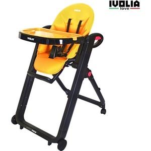 Стульчик для кормления Ivolia LOVE 02 4 колеса orange