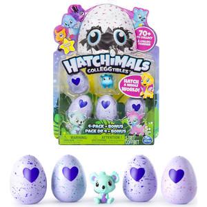 интерактивная игрушка Hatchimals коллекционная фигурка 4 штуки + бонус