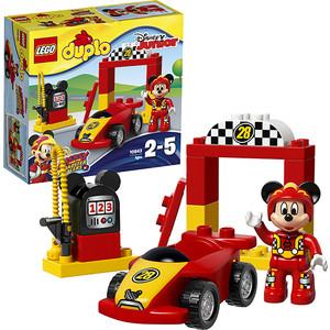 Конструктор Lego Дупло Гоночная машина Микки