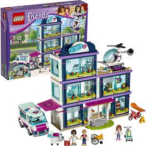Конструктор Lego Подружки Клиника Хартлейк-Сити