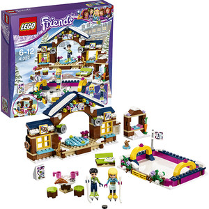 Конструктор Lego Подружки Горнолыжный курорт- каток