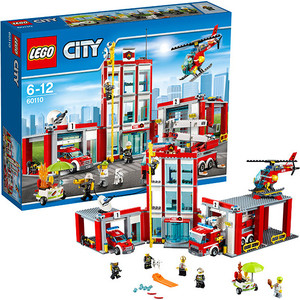 Конструктор Lego Город Пожарная часть