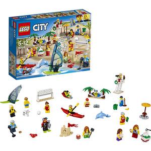 Конструктор Lego Город Отдых на пляже - жители LEGO CITY