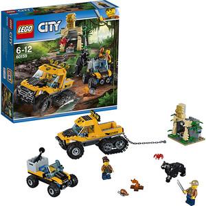 Конструктор Lego Город Миссия Исследование джунглей
