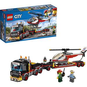 Конструктор Lego Город Перевозчик вертолета