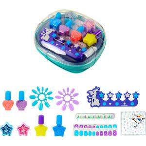 Игровой набор Markwins Frozen Детская декоративная косметика с сушкой лака