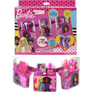 Игровой набор Markwins Barbie Детская декоративная косметика с поясом визажиста