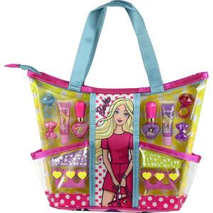 Игровой набор Markwins Barbie Детская декоративная косметика с сумкой