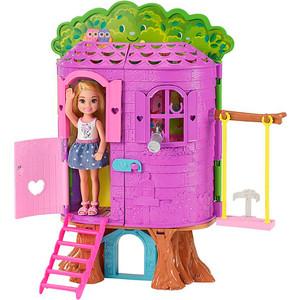 Кукла Mattel Barbie Игровой набор ''Домик на дереве Челси''