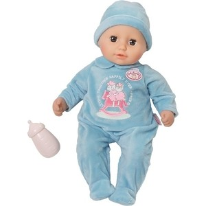 Кукла Zapf Мальчик с бутылочкой, 36 см