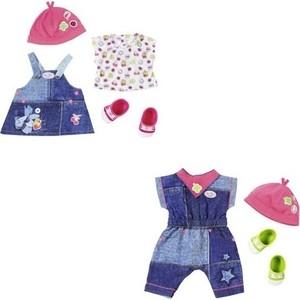 Аксессуар для куклы Zapf Одежда Джинсовая коллекция, 2ортименте