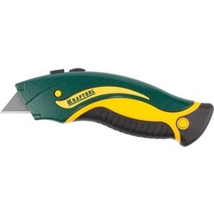 Нож Kraftool с трапецевидными лезвиями 19 мм (09241_z01)