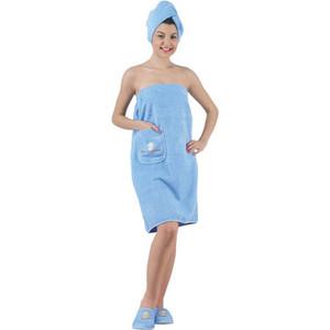 Набор для сауны женский Karna Paris голубой (325/CHAR007)