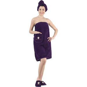 Набор для сауны женский Karna Paris фиолетовый (325/CHAR010)