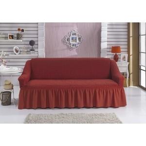 Чехол для дивана двухместный Bulsan кирпичный (2027/CHAR007)