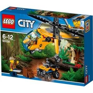Конструктор Lego City Грузовой вертолёт исследователей джунглей