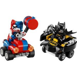 Конструктор Lego Super Heroes Mighty Micros: Бэтмен против Харли Квин