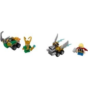 Конструктор Lego Super Heroes Mighty Micros: Тор против Локи