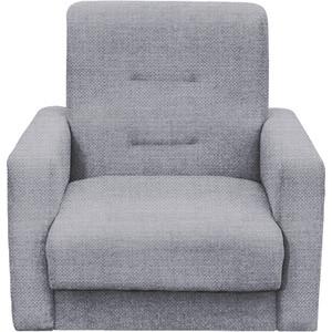 Кресло Экомебель Лондон-2 рогожка серая.