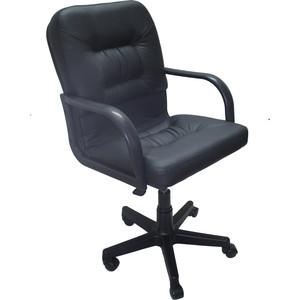 Кресло Союз мебель Шико пиастра экокожа черная