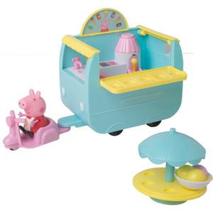 Игровой набор Росмэн Свинка Пеппа ''Палатка с мороженым'' 5 предметов (33849)