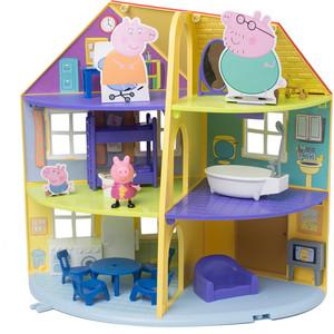 Игровой набор Росмэн Свинка Пеппа ''Трехэтажный дом Пеппы'' 14 предметов (33850)
