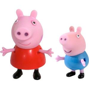 Игровой набор Росмэн Свинка Пеппа ''Пеппа и Джордж'' 2 фигурки (28813)