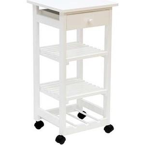 Подставка кухонная Мебелик В 42Н белый