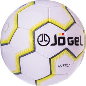 Мяч JOGEL футбольный JS-100 Intro белый  - купить со скидкой