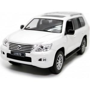 Машина на радиоуправлении Balbi Lexus LX 570 1/14 белый (HQ20125)