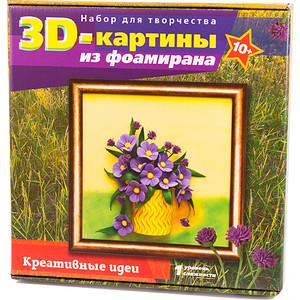 Набор для творчества Волшебная мастерская 3D Картина Полевые цветы (FM-03)