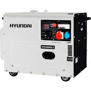 Фотография товара генератор дизельный Hyundai DHY6000SE-3 (89375)