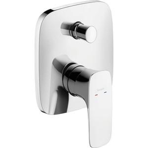 Смеситель для ванны Hansgrohe Puravida к ibox universal (15445000) смеситель однорычажный hansgrohe metris 31280000