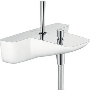 Смеситель для ванны Hansgrohe Puravida бел/(15472400) смеситель для ванны hansgrohe puravida напольный 15473400