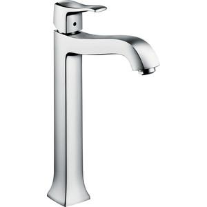 Смеситель для раковины Hansgrohe Metris classic высокий (31078000) hansgrohe metris classic 31478000 для ванны с душем