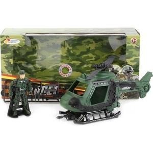Игровой набор Играем вместе военная техника (вертолет, солдат, аксесс.) (7033-R)