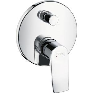 цены Смеситель для ванны Hansgrohe Metris к ibox universal (31493000)