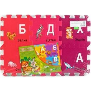 Мягкий пол Играем вместе ''животные'' с вырезанными буквами (FS-ABC36-ZOO)