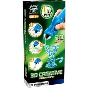 3D-ручка FITFUN TOYS детская, светящиеся чернила, цвет синий (1CSC20003389)